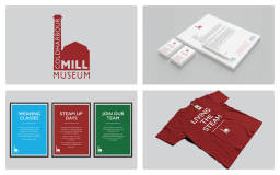 Coldharbour Mill Brand and Logo Design