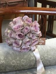 Amnesia rose bridal bouquet