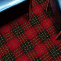 Tartan Royale Carpet by Hugh Mackay