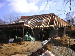 cut and pitch roof in rochester