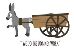 We Do The Donkey Work