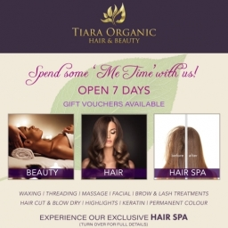 Tiara Organic Hair & Beauty Services