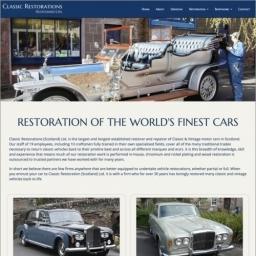 Classic Restorations Website