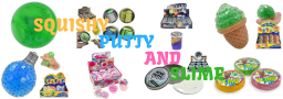 Toy Shop - Wide Range of Squishy, Slime and Putty