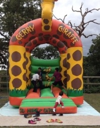 Gerry Giraffe bouncy caslle