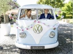VW Campervan Wedding Car Hire