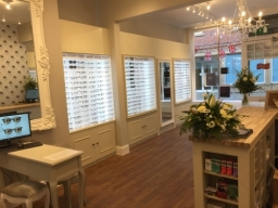 Optique of Southwell Reverse shop view