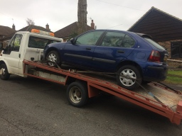 car bought for scrap