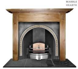 Floret Regency wood surround made to order