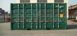 New Green 20ft High Cube Side Opening Shipping Container