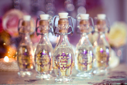 Personalised Gift Bottles for Bridesmaids