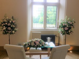 Notley Abbey wedding venue flowers