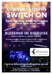 Christmas Light Switch on 24/11/2018