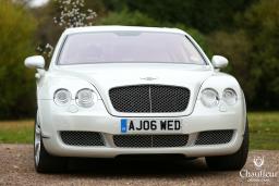 Bentley Flying Spur Wedding Car