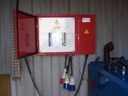 Control Board Site Electrical Supply