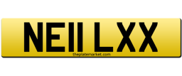 Neil private car number plate
