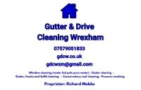 Gutter & Drive Cleaning Wrexham