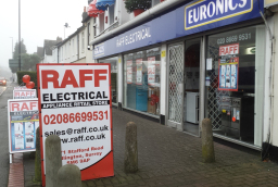 Raff Electrical: Part of the Euronics buying group