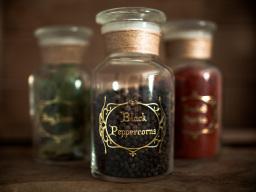 Apothecary Spice Jars