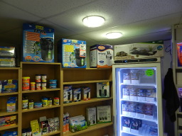 Frozen Fish food and Dry Food treatments Tetra