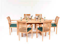 Teak Patio Dining Set