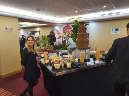 Chocolate fountain hire event aylin sweets