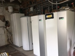 16 Kw Ground Source Heat Pump install (2x 8 Kw)