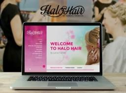 Halo Hairstylist Hairdresser Website