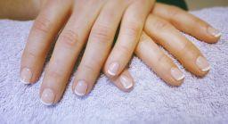 French Gel Manicure