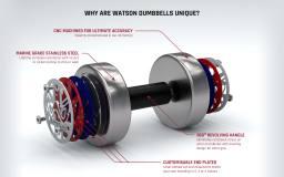 Watson Gym Equipment 3D Product Visualisation