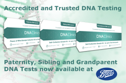 DNA Testing Kits at Boots