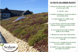 Green Roof Facts