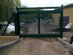 Metal Gate Fence