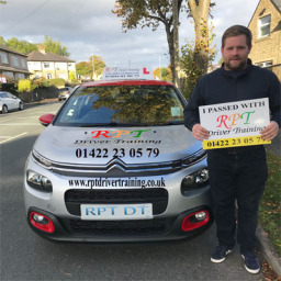 Nathan Raynor passing in Halifax