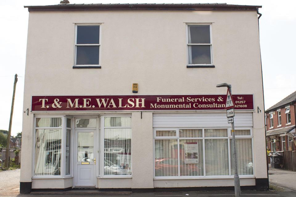 T & M E Walsh Funeral Directors 46/48 Preston Road, Standish