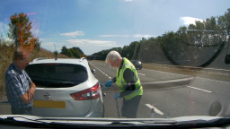 Fuel Drain on A180 near Grimsby