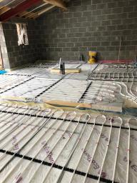 New Build underfloor heating North Yorkshire