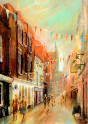 Church Street, Hereford - by Jonathan Sant