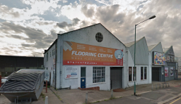 Shop and warehouse of Flooring Centre Ltd