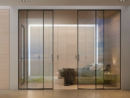 internal aluminum doors