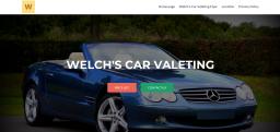 Welch's Car Valeting - Website