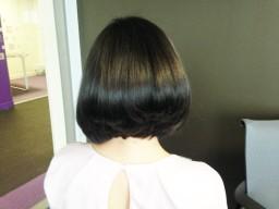 Hair cut Bob