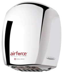Hand Dryers - Airforce in Chrome