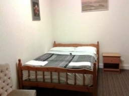 A Double room at Holly House Hotel London