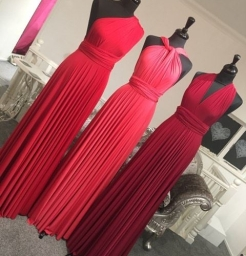 Exclusive to TDR Bridesmaids - Wrap Style Dresses