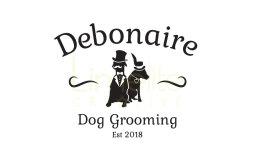 Logo design for Debonaire Dog Grooming