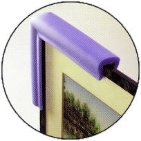 Foam edge protection for furniture or industrial protection