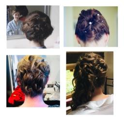 Wedding hair ups ❤️