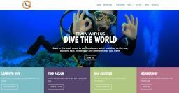 Website Design for Sub Aqua Association