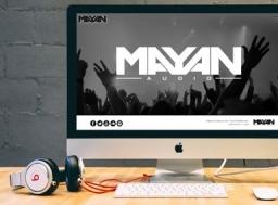 Mayan Audio - Independent Record Label, Music Website Design